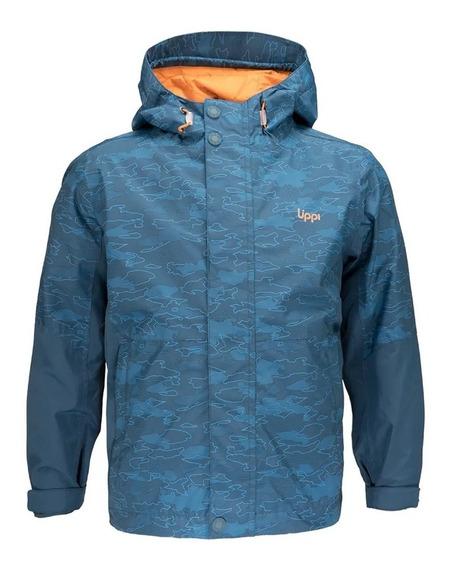 Chaqueta Niño Lippi Torreto B-dry Hoody Jacket Azul I19