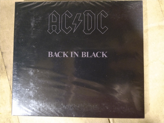 Cd Acdc ( Back In Black )