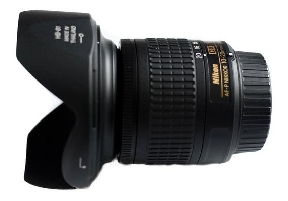 Lente Nikon 10-20mm F/4.5-5.6g Af-p Dx Vr Garantia 1 Ano Nfe