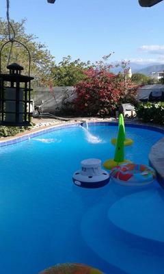 Villa En La Playa En Palmar De Ocoa Con 4 Habitaciones