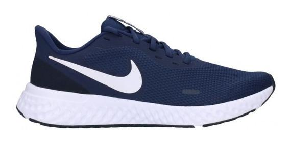 Zapatillas Nike Revolution 5 Running Hombres Bq3204-400
