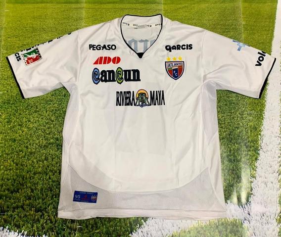 Camiseta Del Atlante De Mexico 2012 #19 Gimenez De Coleccion