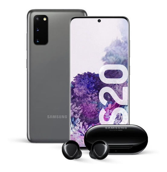 Samsung Galaxy S20 + Galaxy Buds Plus