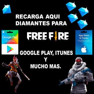 Google Play $10 Al Por Mayor Y Menor Diamantes Free Fire Ec2