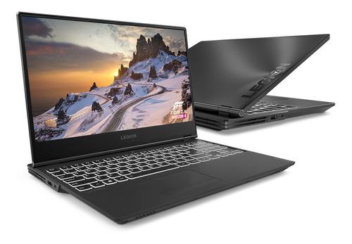 "Notebook - Lenovo 81rj0000br I7-9750h 2.60ghz 16gb 128gb Padrão Geforce Rtx 2060 Windows 10 Home Legion Y540 15,6"" Polegadas"