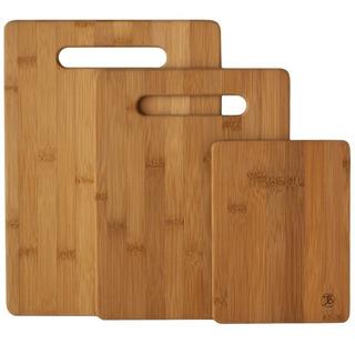 Tablas Para Cortar Hecha De Bambu Kit De 3 Envío Gratis