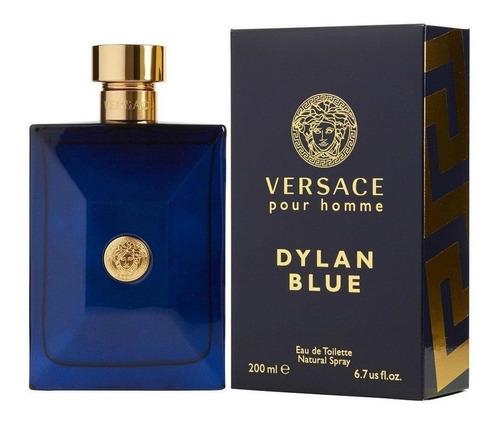 Perfume Versace Dylan Blue Original Men - L a $201
