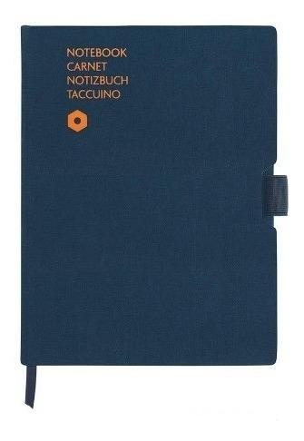 Bolígrafo Carandache 888 Azul Y Notebook Office 454.404