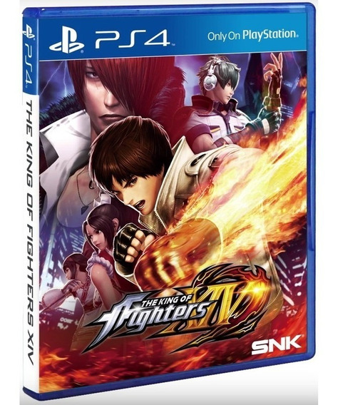 The King Of Fighters Xiv Kof 14 Ps4 Disco Fisico Cd Original
