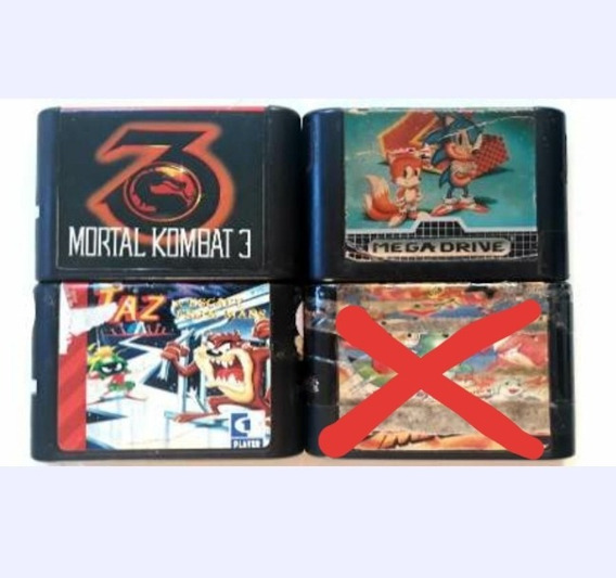 Mortal Kombat 3, Sonic The Hedgehog 2, Taz Mania.