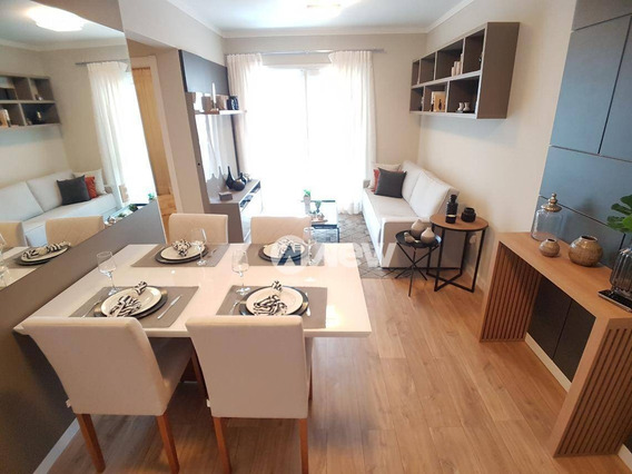 Apartamento Com 2 Dormitórios À Venda, 76 M² Por R$ 351.500,00 - Centro - São Leopoldo/rs - Ap2781