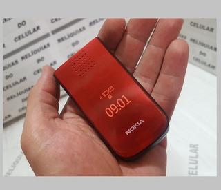 Nokia 2720 Fliper ( Abre E Fecha ) Pequeno Visor Relogio Ext
