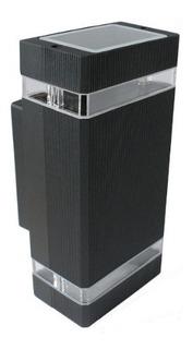 Aplique Bidireccional Recto Aluminio + 2 Dicroled - Glowlux