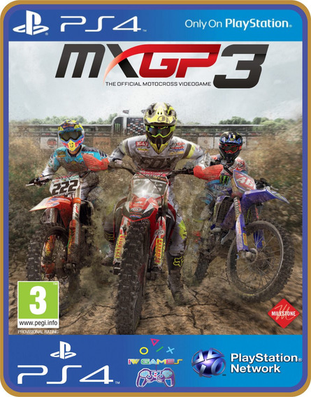Ps4 Mxgp3 The Official Motocross Videogame Psn Original 1