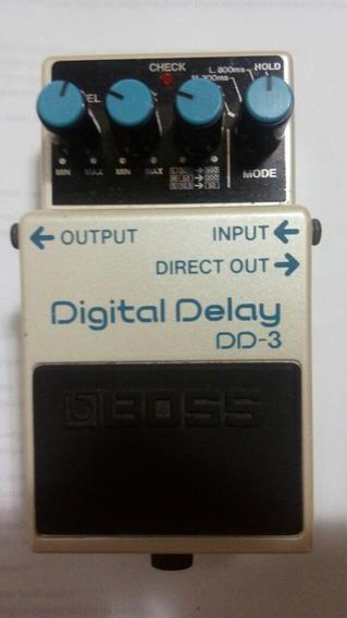 Boss Delay Dd3 - Perfeito Estado - Oportunidae