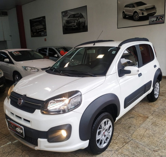 Fiat Uno Firefly Way 1.0 Completo 2017 Impecável