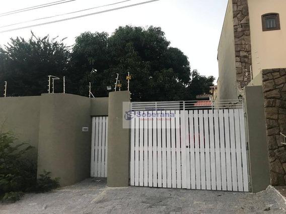 Casa Com 3 Dormitórios Para Alugar, 110 M² Por R$ 3.400,00 - Parque São Quirino - Campinas/sp - Ca1128