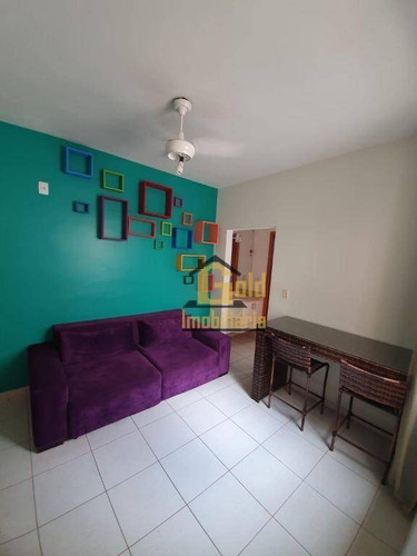 Imagem 1 de 9 de Apartamento Mobiliado Com 1 Dormitório Para Alugar, 35 M² Por R$ 1.200/mês - Bosque Das Juritis - Ribeirão Preto/sp - Ap2503