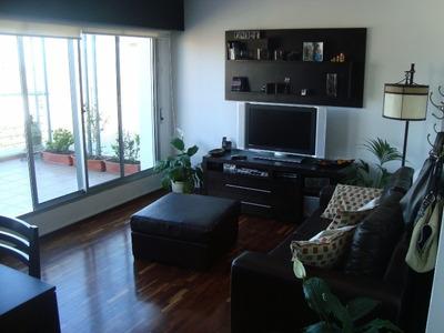 Penthouse Agraciada Y Bulevar 2 Dorm + 2 Terrazas