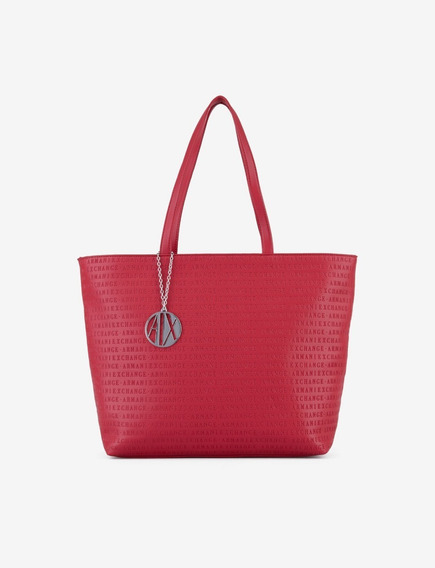 Bolsa Armani Exchange Mujer Roja Rojo Nueva Original