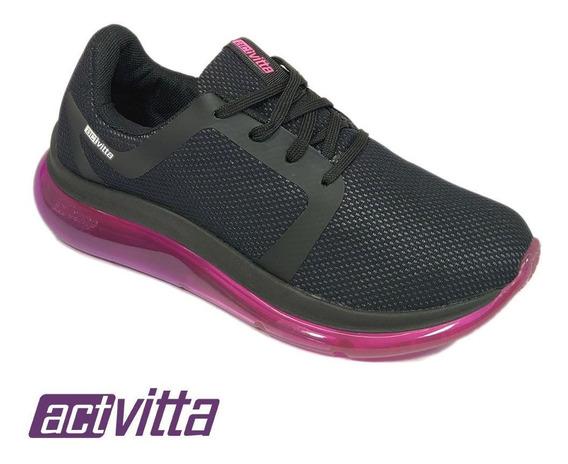 Tenis Feminino Casual Esportivo Conforto Actvitta 4803200