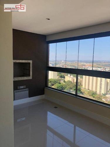 Apartamento Com 3 Dormitórios À Venda, 117 M² Por R$ 1.099.900,00 - Parque Das Flores - Campinas/sp - Ap3831