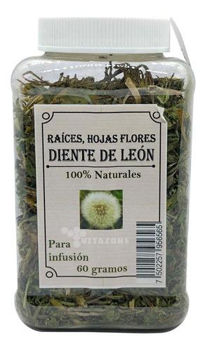 Imagen 1 de 2 de Diente De León Hojas Para Infusión 60 Grs 100% Naturales