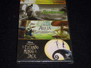 Colección Tim Burton Dvd ( Oferta)