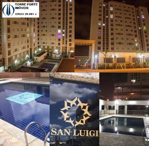 Apartamento Com 2 Dormitórios E 1 Vaga Em Santo André - 2417