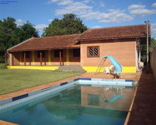 Chácara Em Colina Das Paineiras, Santo Antônio De Posse/sp De 240m² 2 Quartos À Venda Por R$ 490.000,00 - Ch464114