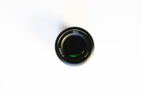 Lente Nikon Af Nikkor 50mm F/1.4d - Perfeita! + Brindes