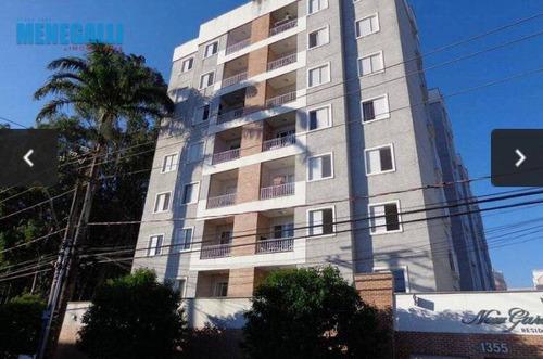 Apartamento - Condomínio New Garden Residence - Jardim Caxambu - Ap0448