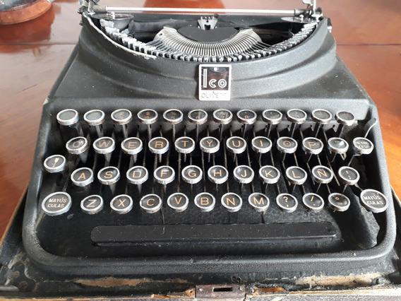 Antigua Maquina De Escribir Olivetti Ico