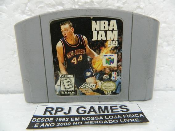 Nba Jam 99 Original P/ Nintendo 64 N64 - Loja Centro Rj