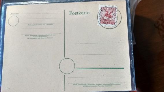 Alemania - Postkarte Con Sello Local