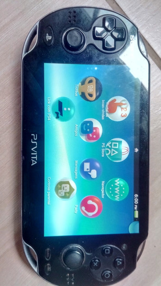Ps Vita 3.73 Fat Com 8 Gigas Original Roda Emuladores