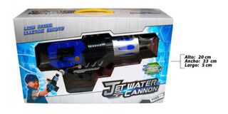 Pistola De Agua Bateria Recargable