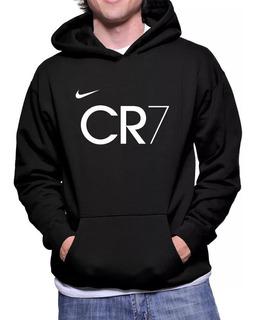 Moletom Cristiano Ronaldo Cr7 R. Madrid Canguru Moleton Frio