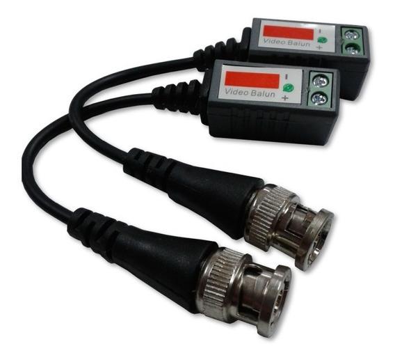 Video Balun Pasivo Hd Con Cable Cámaras Cctv