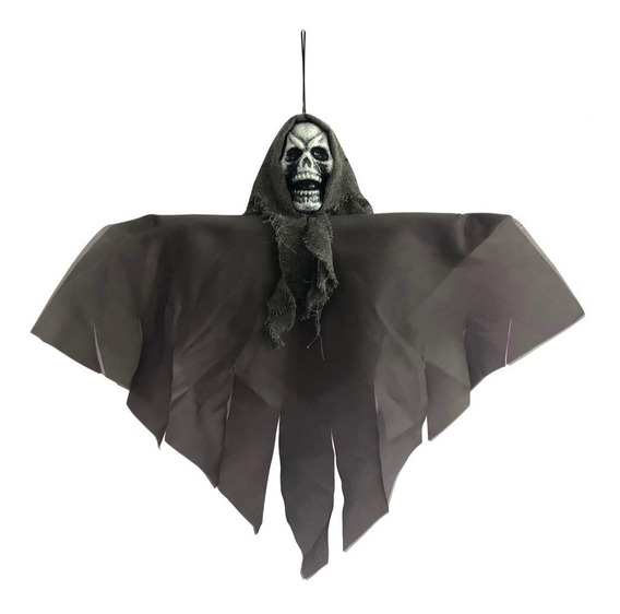 Colgante Calavera Negro Decoración Halloween