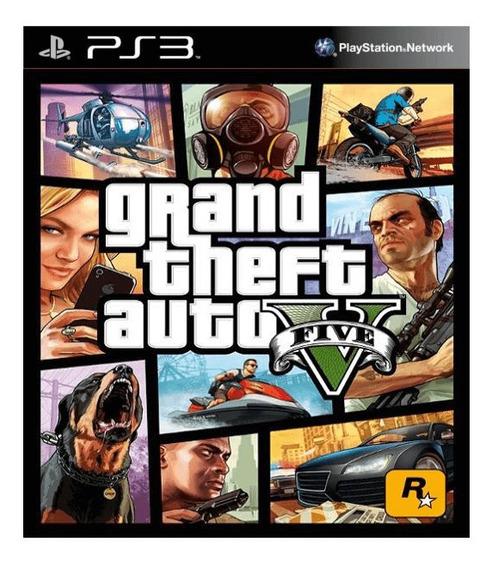 Grand Theft Auto V Em Português Para Playstation 3