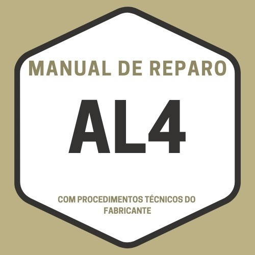 Manual Técnico De Reparo Câmbio Automático Al4 / Dpo