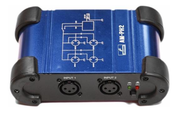 Phantom Power Duplo Arcano Am-ph2 Duplo Alta Qualidade