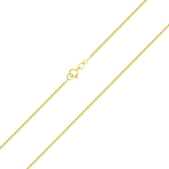 Corrente Gargantilha Ouro 18k 750 Feminina 50cm C/ Garantia