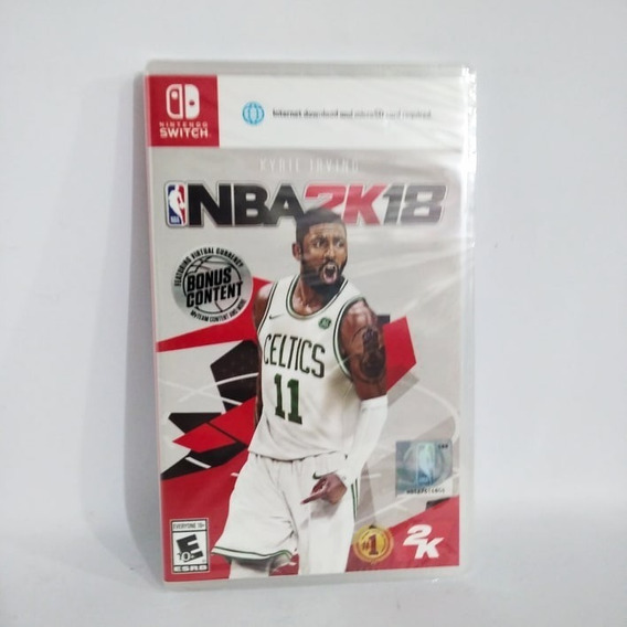 Nba 2k18 Nintendo Switch Novo Lacrado!