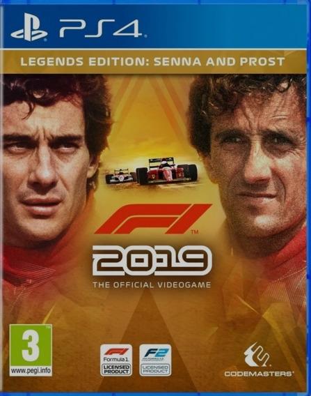 F1 2019 Legends Edition Ps4 Digital² Original Jogo Vitalício