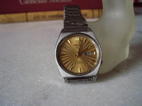 Relógio Seiko Amarelo Raiado