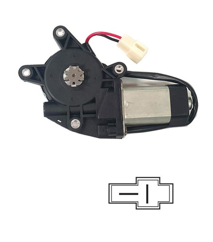 Motor Alza Cristal Electrico Adaptable 12v 20w Derecho