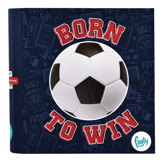 Carpeta Pelota Born To Win Nº 3- Footy Oficial