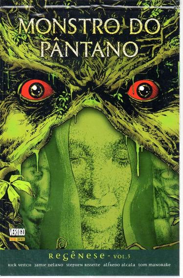 Monstro Do Pantano Regenese 03 - Panini Bonellihq Cx149 A19